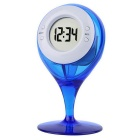 Eco-friendly Water Powered Clock Led Clock - Blue
