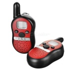 "Beihaidao Cute 0.8"" LCD FRS 462MHz 22-CH Mini Walkie Talkie - Вино Красный + Черный (3 x AAA)"