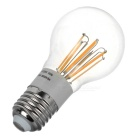 E27 6W Dimmable LED Globe Bulb Lamp Warm White Light 3500K 530lm 6-COB