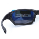 OSSAT PL-026 100% UV Protection PC Frame Polarized Lenses Sports Sunglasses - Black