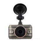 "120 Degree Wide Angle CMOS Car DVR w/ 3"" TFT Dual Camera Motion Detection HDMI Loop Record Mic."