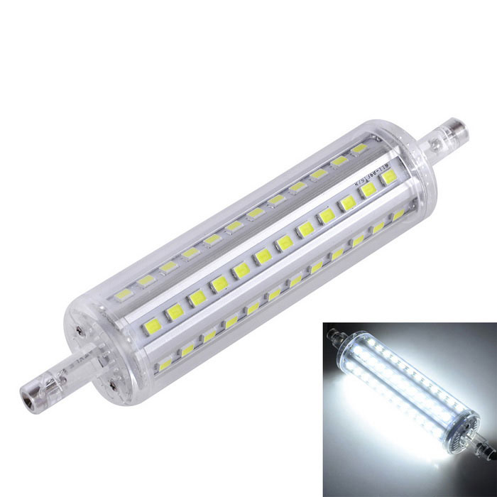 Marsing R7S 10W 800lm 6500K 72-SMD 2835 LED lampe ampoule blanche (ac 220-240V)
