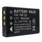 "3.7V ""1900mAh"" FNP-120 Battery for FUJI FinePix Series F10 / F11 / 603 / M603 Zoom + More"
