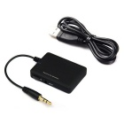 3.5mm Bluetooth V2.1 + EDR Music Audio Receptor Adaptador - Negro