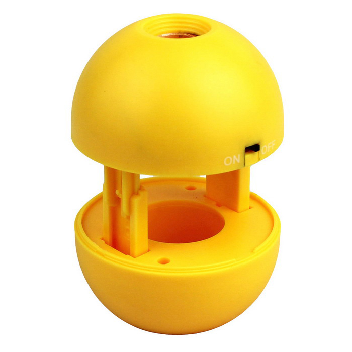 Children's LED Spherical Small Flashlight Telescopic Telescope - Yellow