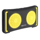 MOCREO 6W Lemon Style Outdoor Water-Resistant Mini Portable Bluetooth Speaker - Yellow + Black