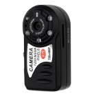 Mini HD 720x480P CCD DV Night Vision Camcorder - Black
