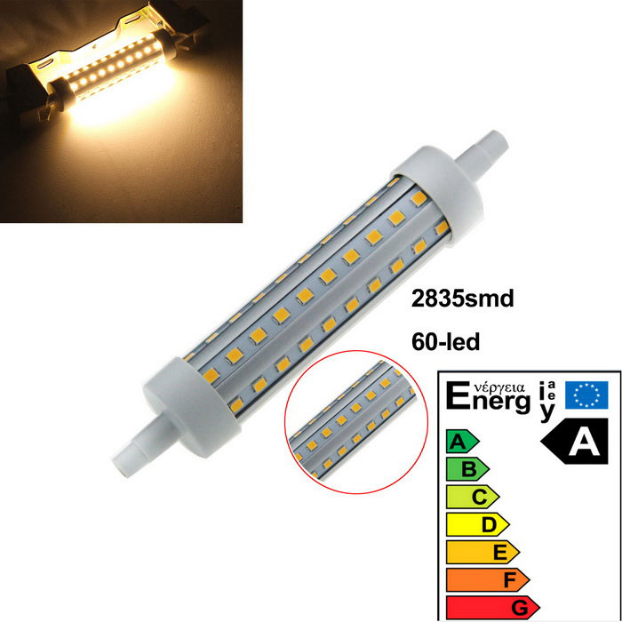 R7S 5W LED Bulb Lamp Warm White Light 3000K 600lm 60-SMD 2835 (AC 220 ~ 240V)