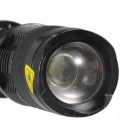 KINFIRE SK88 Q5 LED 280lm 3-Mode Zooming Bicycle Light Flashlight w/ Clip / AA Battery Charger
