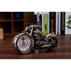 Motorcycle Style Alarm Clock - Brown + Bronze