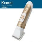 KEMEI KM-9020 Portable Rechargeable Men's Electric Hair Clipper Trimmer Shaver - Golden + White