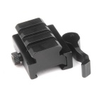ACCU KC07 Aluminum Alloy Quick Release High Guide Rail for 20mm Rail Gun - Black