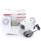 2.0MP 1080P HD CMOS IP Camera w / 36-IR-LED, P2P, ONVIF, Motion Detection