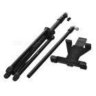 Tablet PC Selfie Levante Mount Holder Tripé para IPAD / Samsung / Xiaomi + More - Preto