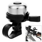 CTSmart Bike Bicycle Ultra-Loud Safety Warning Bell - Black + Silver