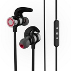 Hi-Fi wireless in-ear auricolari Bluetooth di sport - nero