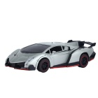 1:18 Scale 4-CH Remote Controlled Transformable Car Toy - Gray