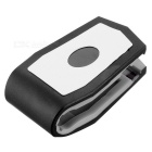 Plastic Car Mount Holder Clip for Cellphone / GPS Navigator / IPAD / IPHONE - Black + Grey