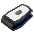 Plastic Car Mount Holder Clip for Cellphone / GPS Navigator / IPAD / IPHONE - Black + Blue