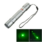 Bike Mounted 5mW 532nm Green Laser Pointer Pen - Silvery Grey (1 x 18650)