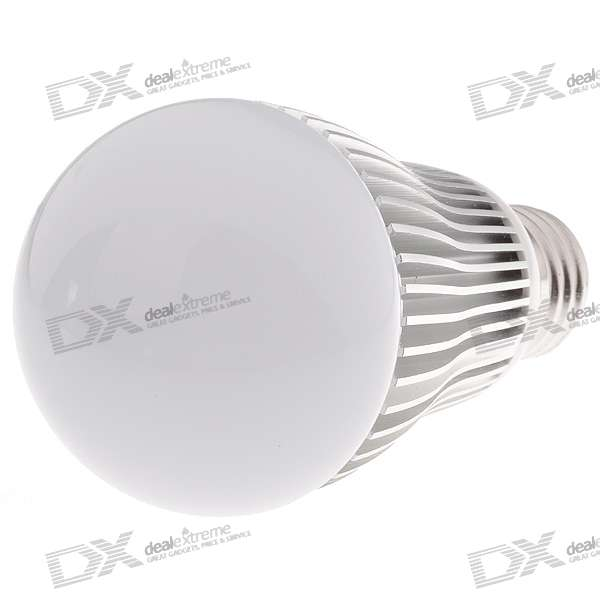 E27 60MM 5W RGB Multicolored IR Remote Control Light Bulb (AC 85~265V)