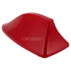 Shark Fin Design 17cm Long Plastic Adhesive Base Roof Decorative Antenna for BMW - Red