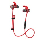 Wireless Hi-Fi Neck-Strap & In-ear Bluetooth Stereo Sports Earphones Headset w/ Handsfree, Mic - Red