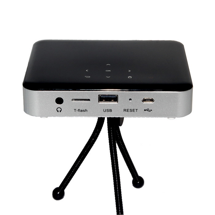 Portable handheld micro projector black free shipping for Handheld projector price