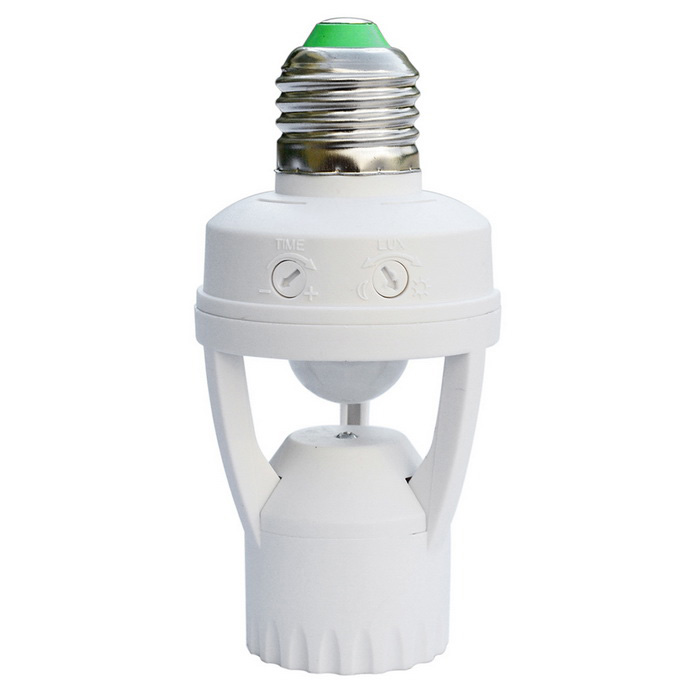 Jiawen LED menselijk lichaam Inductie Lamp Holder Switch