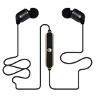 In-Ear Bluetooth V3.0 Stereo Earphone w/ Mic. - Black