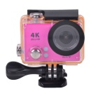 "2"" LCD 12MP 1080P Wi-Fi Waterproof Action Camera - Deep Pink"