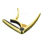 Meideal MC10C Alloy Capo Clamp for Classical Guitar / Ukulele - Golden