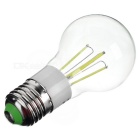 E27 4W Dimmable LED Globe Bulb Lamp Cold White Light 4-COB