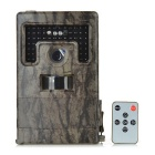 "2.0"" TFT 1080P 120 Degree Wide Angle CMOS Hunting Camera w/ 42 LEDs - Dark Brown"