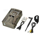 2.0 inch TFT 1080P 120 Degree Wide Angle 42-LED Hunting Camera Support GSM/GPRS - Dark Brown