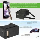 "Portable Soft 3D VR-bril Virtual Reality Video for All 3.5 ~ 6.0 ""Smart Phones"