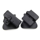 ACCU New Tactical Military Gun Pistol Holster + Magazine Case For G17 Pistol