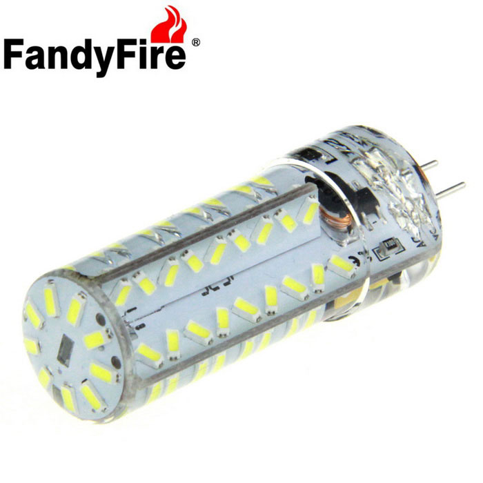 FandyFire G4 7W LED Decorative Light Bulb Lamp Bluish White
