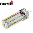 FandyFire G4 7W LED Decorative Light Bulb Lamp Warm White 3000K 900lm 81-SMD 3014 (AC/DC 12V)