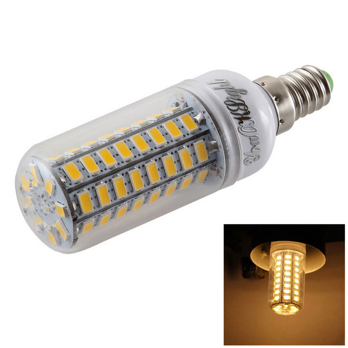 YouOKLight E14 5W Warm White 72-SMD 5730 LED Corn Bulb (AC 220~240V)