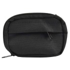 800D Nylon Water Resistant Mini Outdoor Accessories Bag / Carry-on Change Wallet - Black