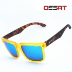 OSSAT SH-1005 Outdoor Sports Cycling UV400 Protection Polarized Blue REVO Lenses Sunglasses