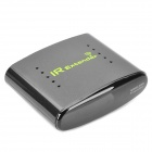 433MHz Wireless Infrared Re-Transmitter Set - Black + Silver