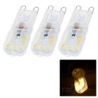 G9 3W LED Bulb Lamp Warm White Light 3000K 300lm 14-SMD 2835 (AC 220V / 3PCS)