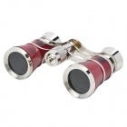 Compact 3x25 Pocket Binocular Telescope with Carrying Pouch and Strap (Color Assorted)
