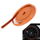 4m Adhesive Orament Car Moulding guarnição Strip - Laranja