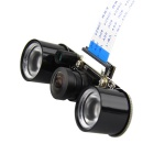 Adjustable Focus 160 DegreeViewing Angle Fisheye Lens Raspberry Pi Camera w/ 2 IR Lights Board