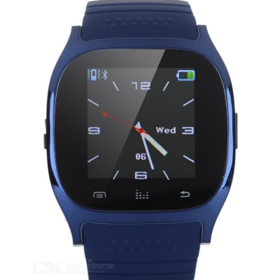 M26 Bluetooth Smart Watch w/ LED Altimeter Music Player Pedometer for IOS Android Smart Phone
