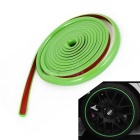 4m Adhesive Orament Car Moulding guarnição Strip - Verde