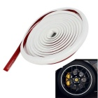 4m Adhesive Orament Car Moulding Trim Strip - White